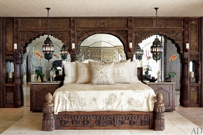 Cher's moroccan bedroom