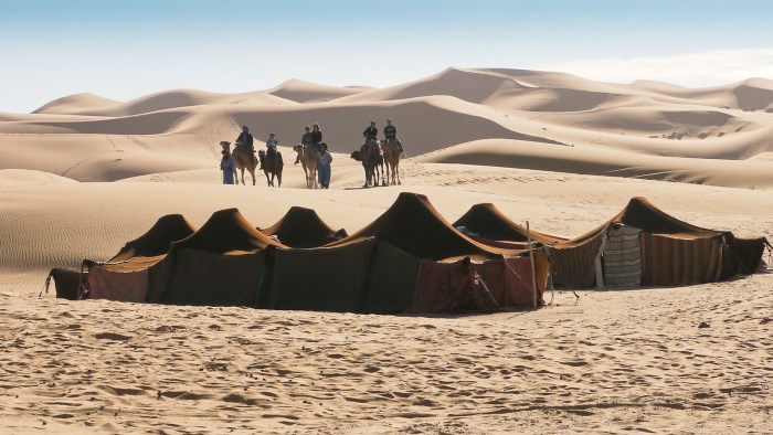 Moroccan Desert Merzouga, bivouac de l'Auberge du Sud, Photo credit: Daniel PERRIES, Flickr