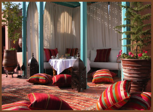 Photo credit: Riad Kniza, Marrakech, Morocco