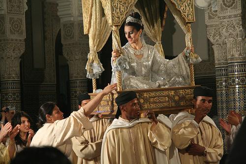 moroccan Bride's Wedding Dance in Ammaria