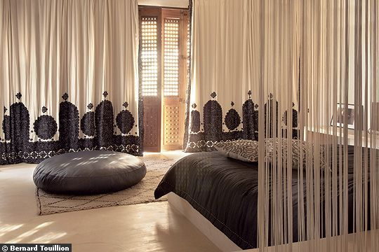 Contemporary Moroccan Bedding, design by mustapha blaoui