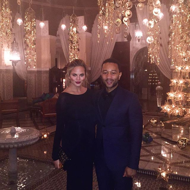 John Legend Celebrates his birthday in Morocco
