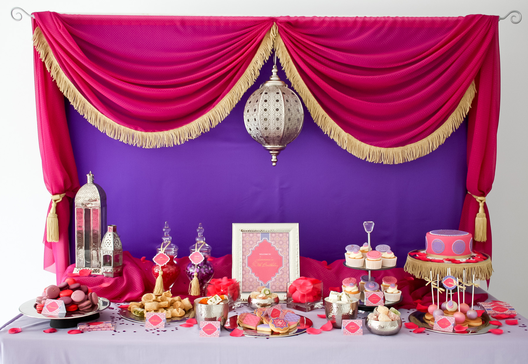 Moroccan Theme Birthday Party, Event By: KisswithStyle