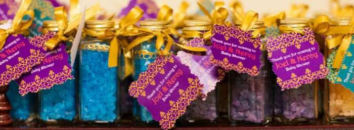 Moroccan Baby Shower Favors Idea, Image: Catchmyparty