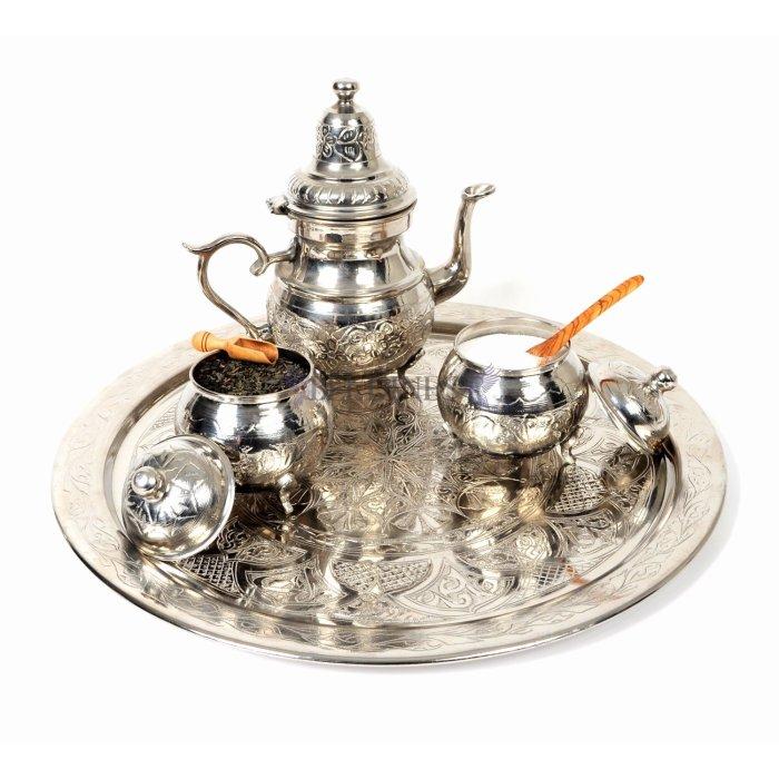 moroccan teapot brass