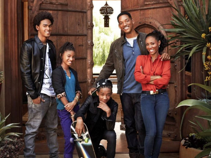 Celebrity Family Photo, Will Smith house, Image Credit: Art Streiber, Architectural Digest
