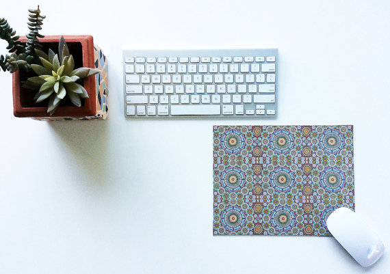 Moroccan Themed Mouse Pad, empressionistar