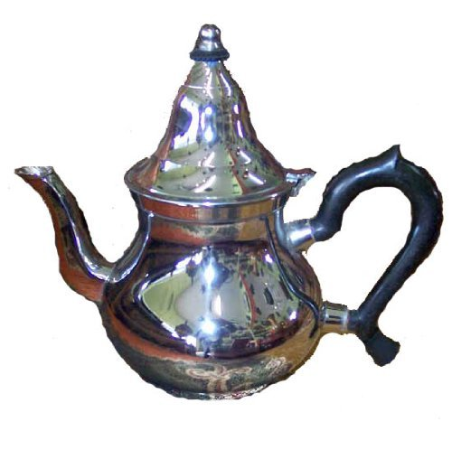 moroccan serving tea pot stainless steel