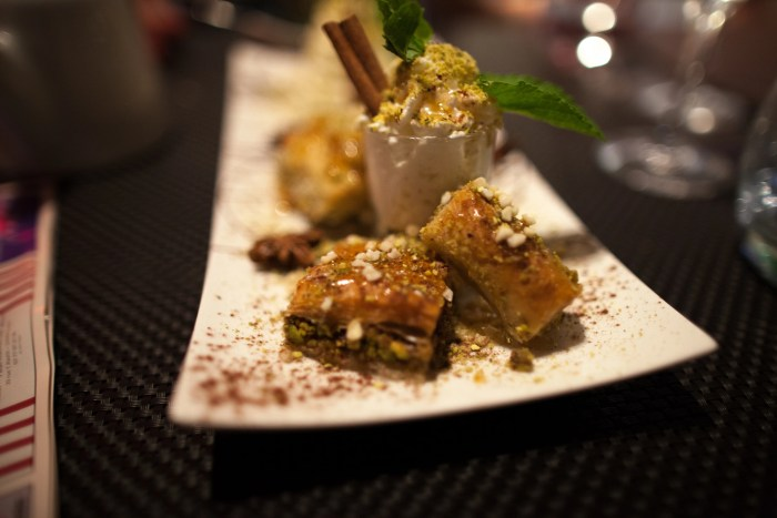 Baklava Recipe, photo credit Zlatko Unger
