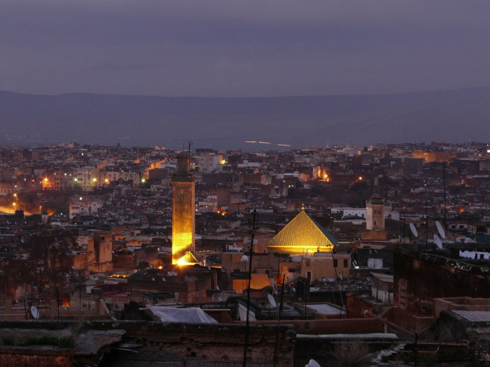 Fez by night, via Flickr