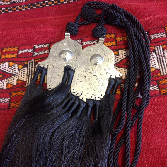Moroccan curtain tassels, Shop this item HERE