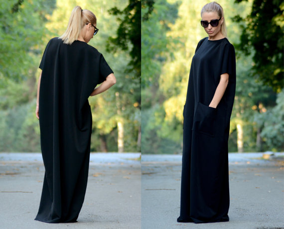 Black Kaftan Dress, Shop this item HERE