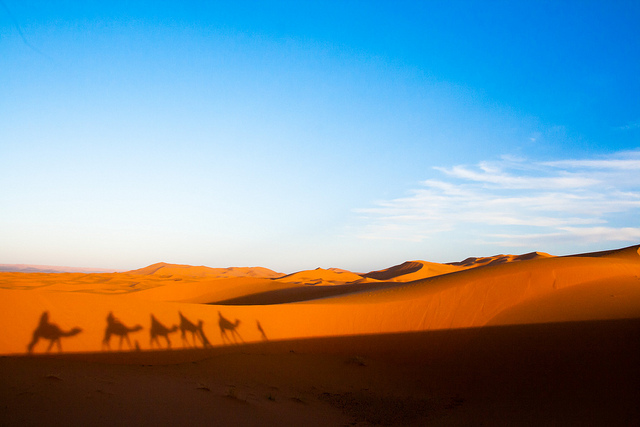 Erg Chebbi, by Christopher Rose, via Flickr
