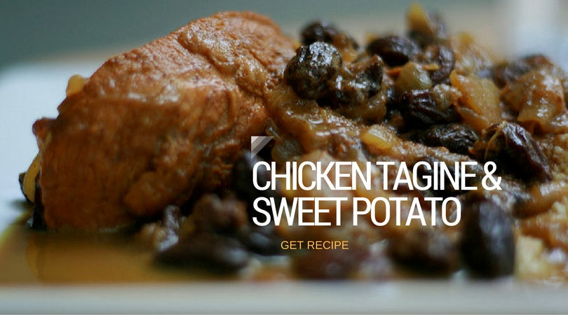 Chicken Tagine and Sweet Potatoes Recipe