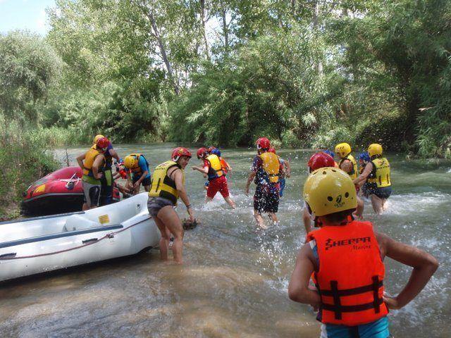 Rafting Valencia con Somos Aventura 3