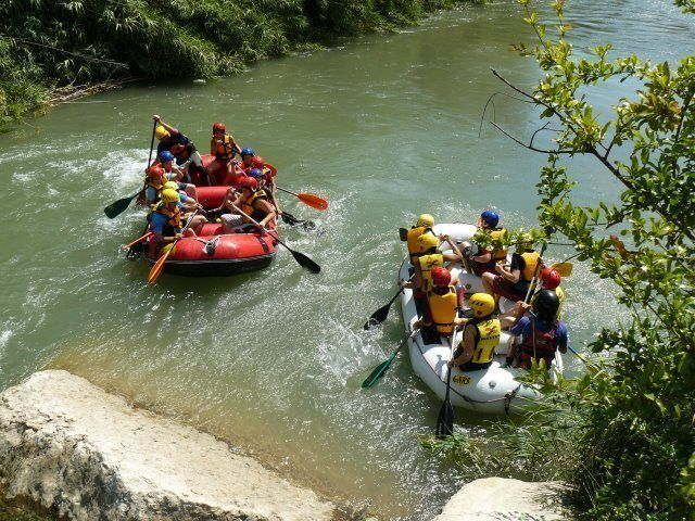 Rafting Valencia excursiones escolares 3