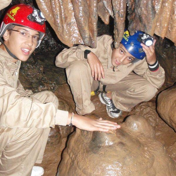 Espeleología cueva Cirá 4