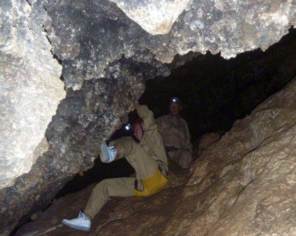 Cueva de iniciación a la Espeleología