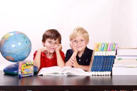 Niños aprendizaje