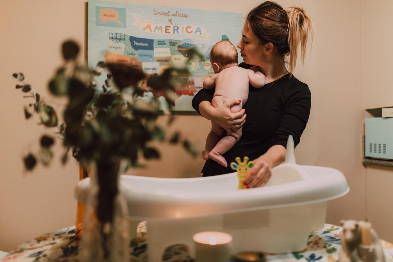 baño bebé