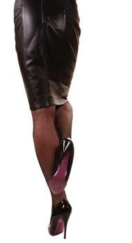 Zapatos y falda negro