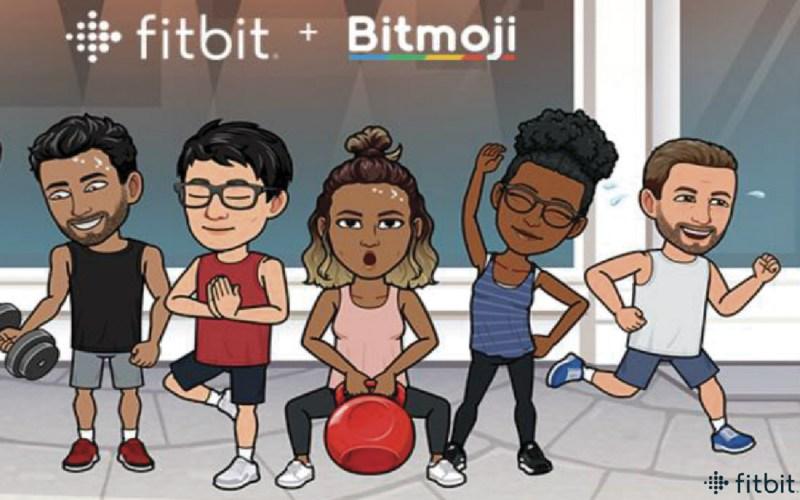 Bitmoji Fitbit