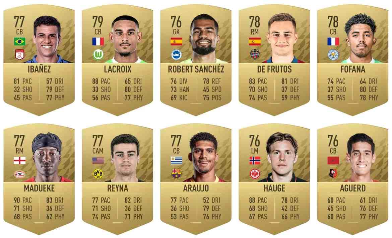Jugadores que más crecieron FIFA 22.