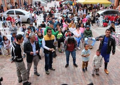 Comunidad Girasoles:  Construyamos paz y convivencia