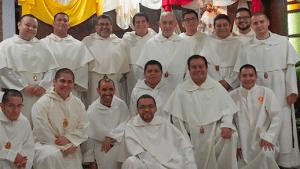Comunidad de sacerdotes y religiosos en formación del Seminario Mercedario en Guatemala, San Pedro Nolasco.