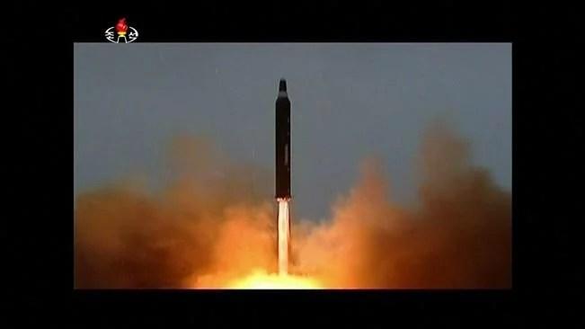 míssil coreano sobre o japão trump coreia do norte