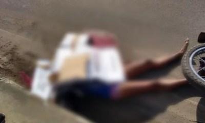 mulher atropelada caminhão moto cabeça esmagada teresina