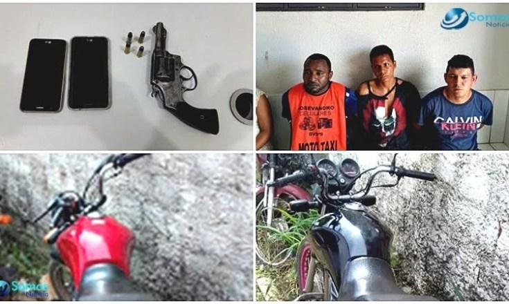 suspeitos presos agua branca assalto principal