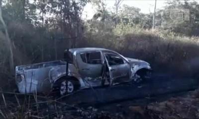 carro rodoanel incêndio