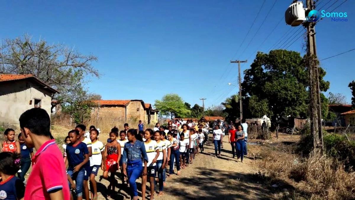 ensaio amarante desfile IMG 20180906 WA0034 Escolas de Amarante participam de ensaio geral para desfile de 7 de setembro