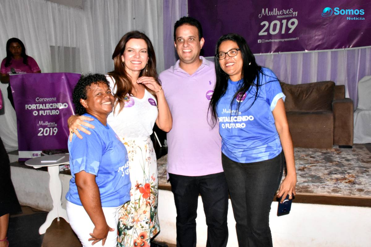 caravana fortalecendo o futuro em Amarante DSC 1893 Progressistas promove debate em Amarante sobre 'o poder de mudança da mulher na política'