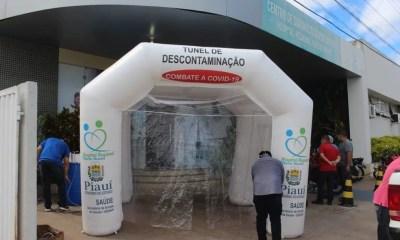 Hospital Regional Tibério Nunes, em Floriano — Foto: Divulgação / Aparecida Santana