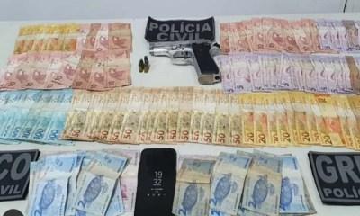 cinco acusados foram presos na ação da polícia civil de miguel alves