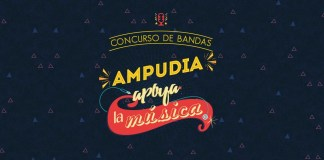 Concurso de Bandas, Ampudia apoya la música