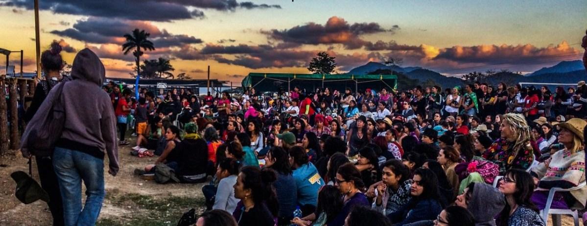 Foto reportaje: Encuentro Internacional de mujeres que luchan, Chiapas