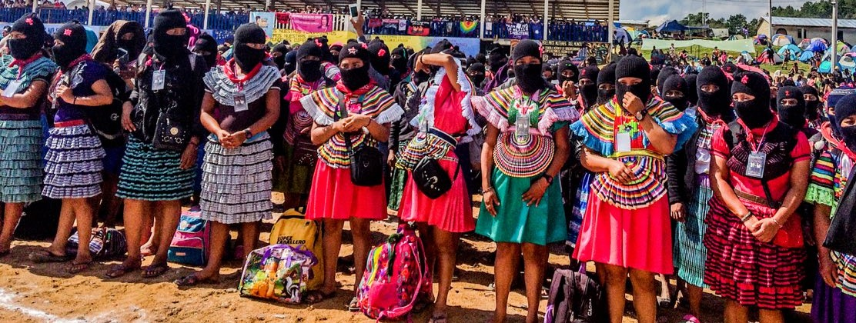 Encuentro Internacional de Mujeres que luchan Caracol Morelia, Chiapas 2018