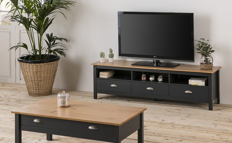 blanc vs venta stock meuble tv bora