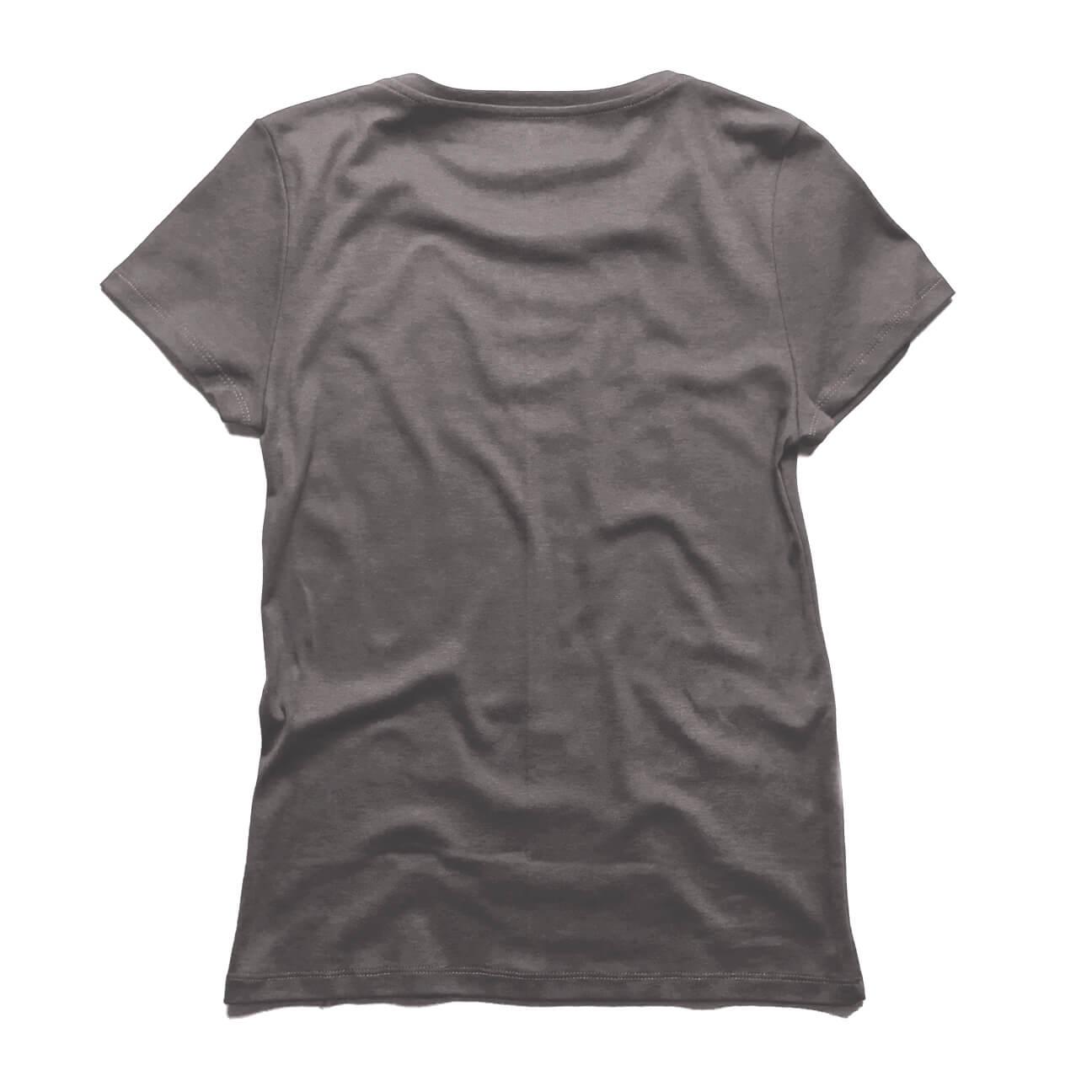 franela-gris-cuello-V-damas-Verticales-espalda