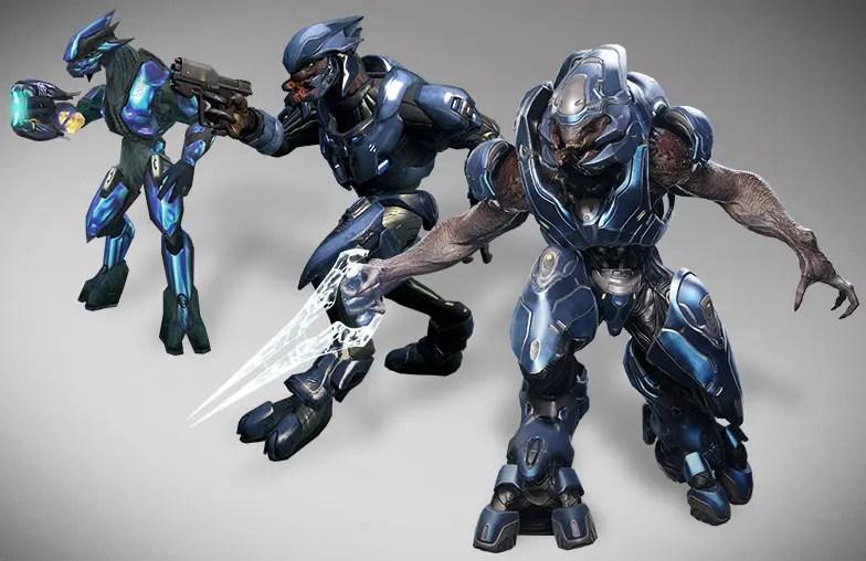 La Evolucin De Los Enemigos De Halo Resumida En Imgenes