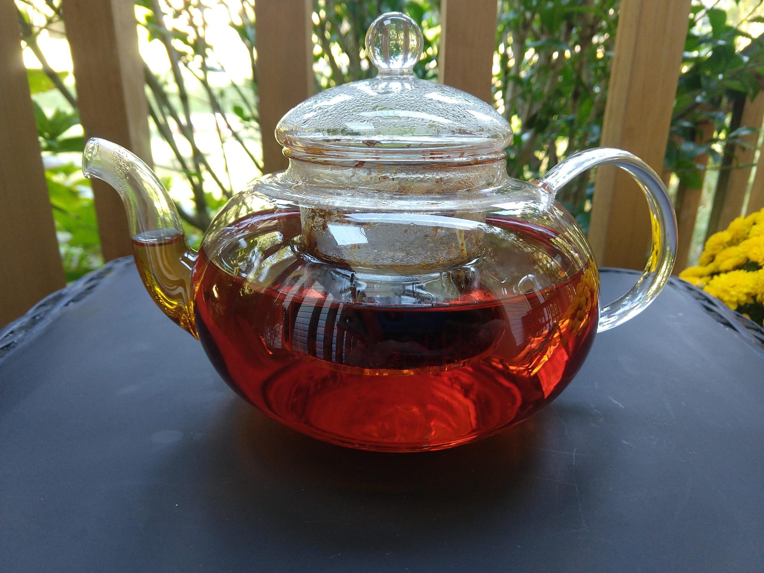 Clear Tea Pot