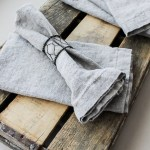 How To Make Your Own Linen Napkins Placemats So Much Better With Age