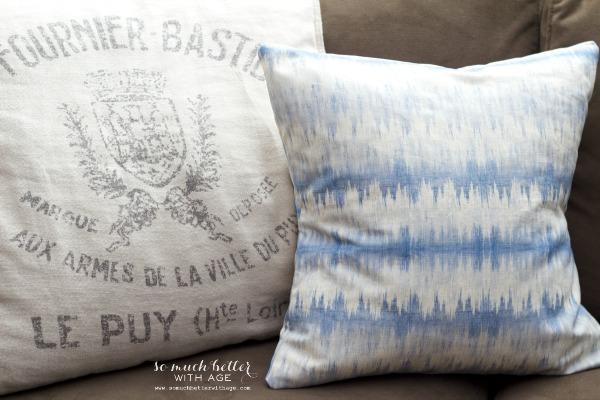 diy envelope pillow cover tutorial so