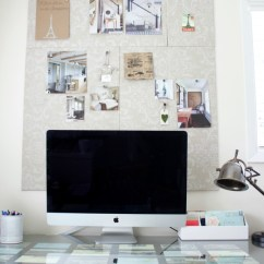 Office Chair Gold Ikea Leather Bulletin Board Using Foam Boards And Fabric | So Much Better With Age