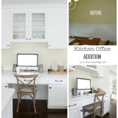 Kitchen Desk Chair Remodeling On A Budget Butler Pantry And Office Updates So Much Better With Age Addition