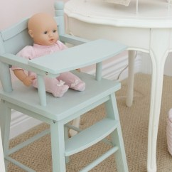 Age For High Chair Kitchen Table And Chairs With Wheels Little Doll Highchair A Funny Story So Much Better Green