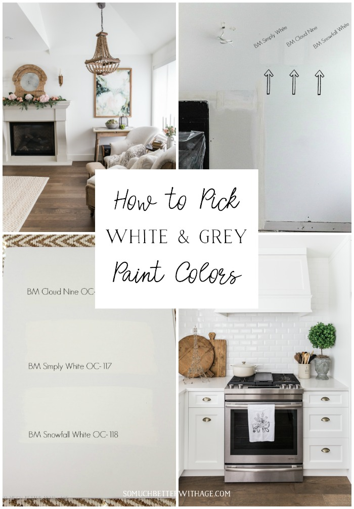 How To Pick White And Grey Paint Colors So Much Better With Age